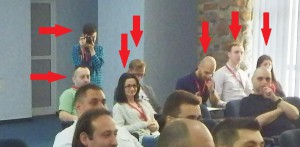 Codruta, Roxana, Cristian, Andrei, Ionut, Relu, Said, Timi - multumi! Ati organizat o reuniune minunata. Datorita voua am muncit, ne-am distrat, am supravietuit :)